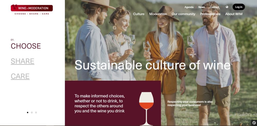 Wine in Moderation launches new central website