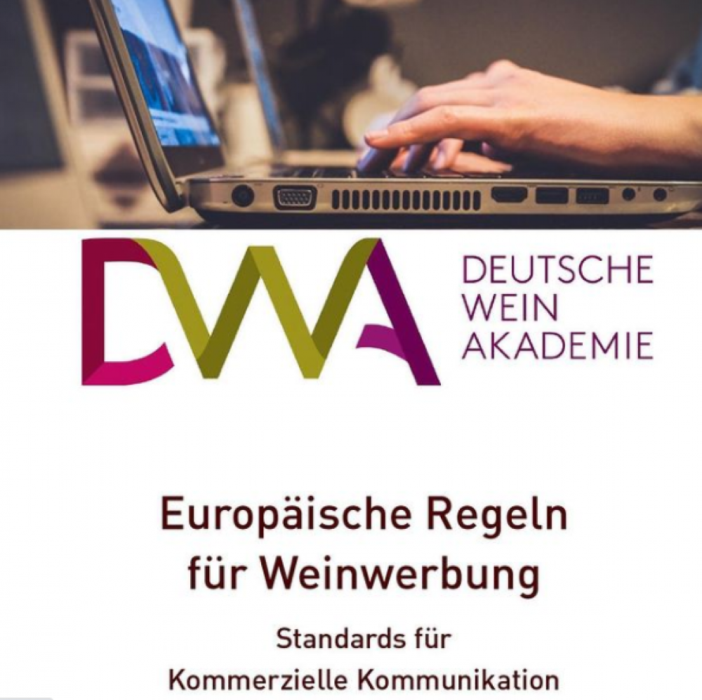The Deutsche Weinakademie and the German Advertising Standards Council organise a webinar on responsible advertising of wine