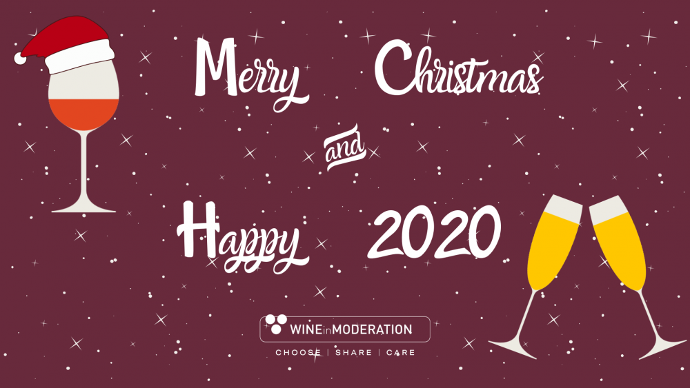 With our very best wishes! Wine in Moderation - a 2019 Retrospective!