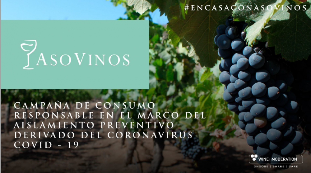 #Encasaconasovinos: a social media campaign by ASOVINOS to share responsible drinking messages during COVID-19